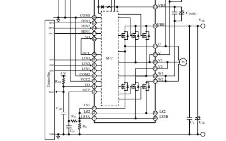 SIM6800M系列高压三相电机驱动IC的详细数据手册免费下载