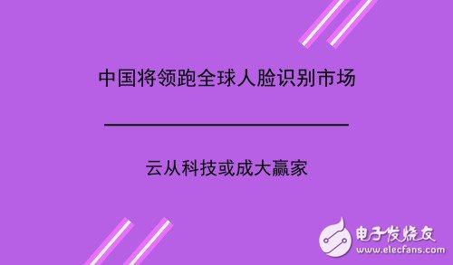 中国云从科技在人脸识别市场份额已经居世界首位