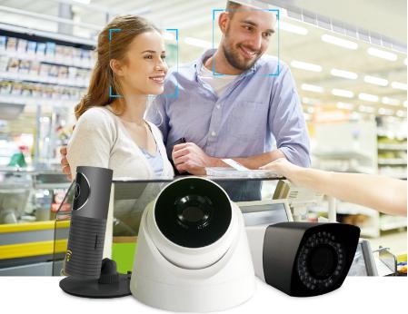 赛蓝云人脸识别摄像机亮相,可根据不同行业需求给出最佳方案