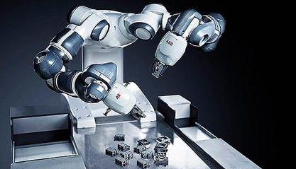 """世纪精信:利用工业机器人提高效率,打造生产线上独特的""""风景线"""""""