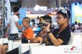 重庆首次举行无人机竞速,展示无人机技术