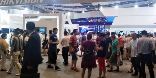 重庆智博会,海威机器人大展览