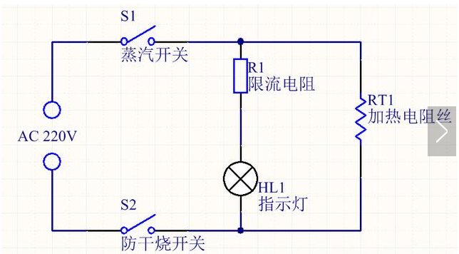 电水壶加热原理解析 加热控制电路的工作原理