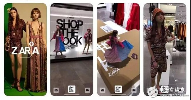 ZARA尝试推出AR购物体验,这次的尝试是全球同类型项目中最大规模之一