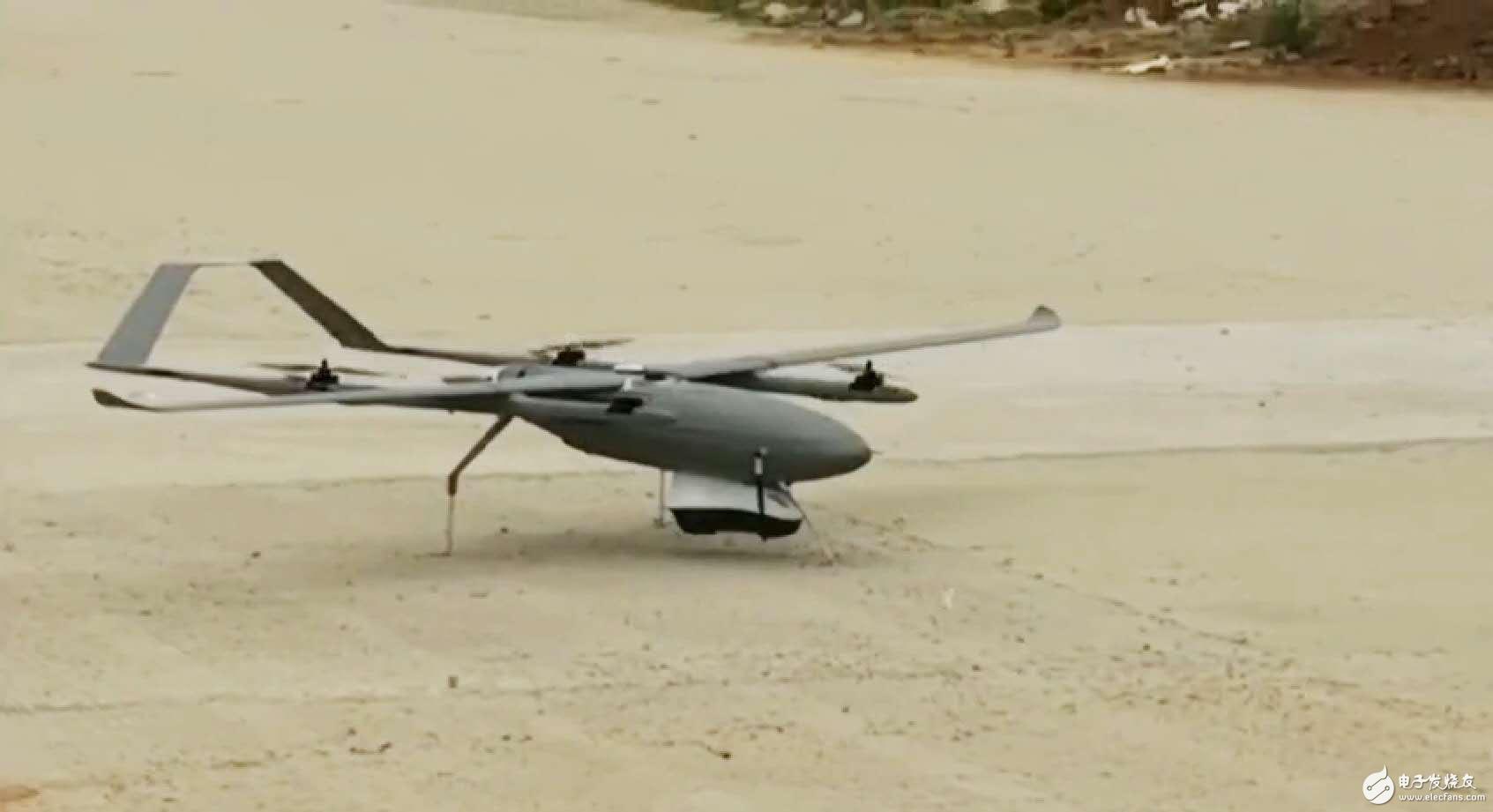 """""""虎鲨""""无人机巡航测试时突遇失速翻滚,卓越性能""""化险为夷"""""""