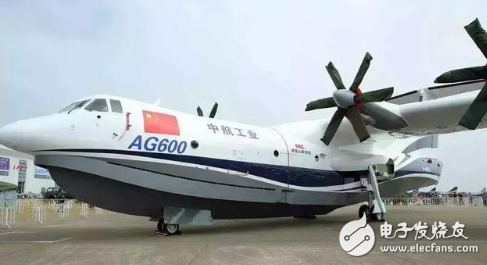 我国大型水陆两栖飞机AG600从珠海飞往湖北,在漳河水库进行水上试飞