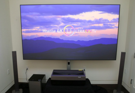 激光电视市场全面爆发,未来将会成为大屏电视市场的...