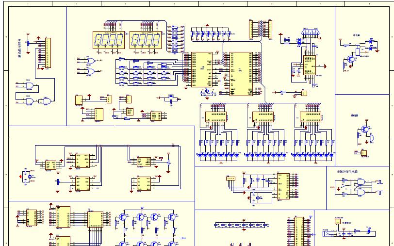 超级51单片机开发板原理图详细资料免费下载