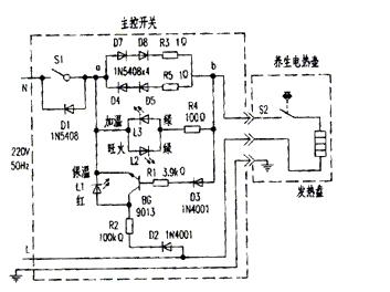 电热水壶保温会耗电吗 自动保温电热壶电路图解析