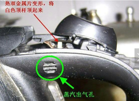 热水壶蒸汽开关结构图 电热水壶的蒸气开关更换方法