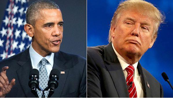 奥巴马与特朗普
