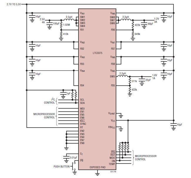 汽车信息娱乐系统中电源管理IC设计解决方案