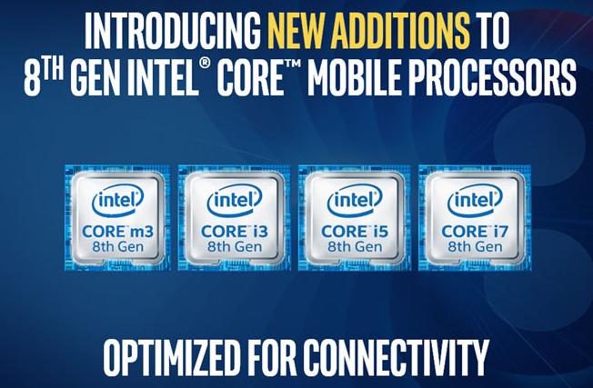 英特尔公布新移动处理器 性能提高并支持千兆无线连...