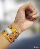 新型智能手环可以进行个人健康和环境的监控