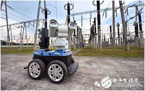 智能巡检机器人为铜陵电网添利器