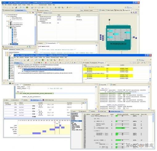 飞思卡尔推出CodeWarrior 10开发套,...