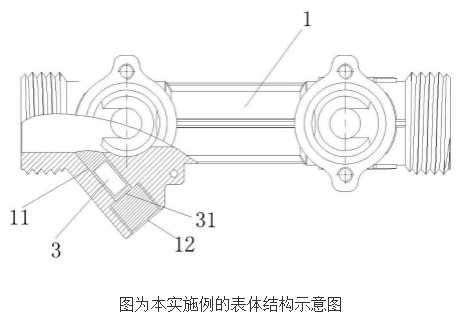 環式超聲波熱量表的工作原理及設計