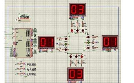 交通信号灯设计方案详细资料免费下载包括程序等