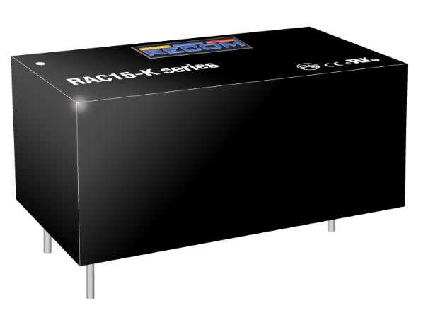 儒卓力提供RECOM的全新高能效电源系列