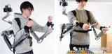 日本研发可VR远程控制的可穿戴机械手臂