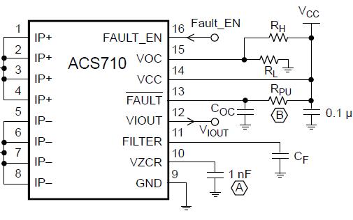 ACS710电流传感器的详细资料和数据手册免费下载