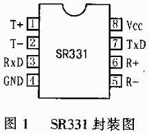 SR331芯片在车辆段脱轨器微机监控系统中应用
