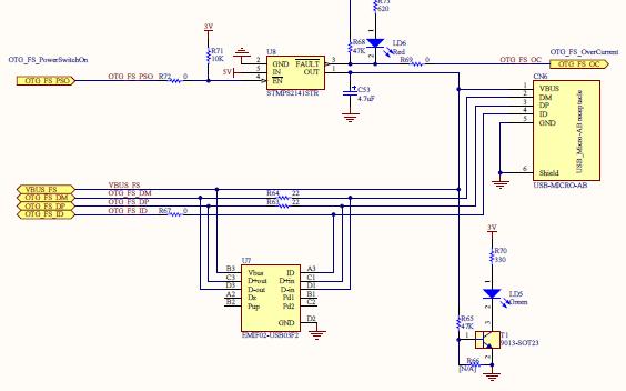 意法半导体STM32F429I-DISCO的详细电路图原理图管脚图等资料免费下载