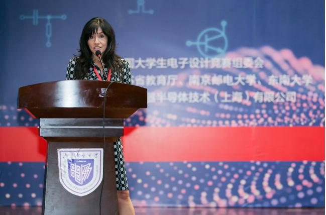 大学生电子模拟电子系统设计18年IT杯邀请赛南京落幕,TI两大总监出席颁奖