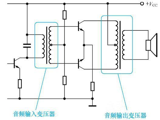 音频变压器的阻抗比和功率详解