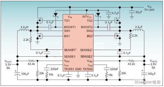 采用LTC3850控制器调节提高机顶盒设计的性能