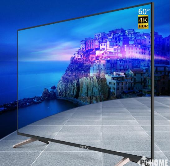 康佳推出一款高性價比4K電視U60J,搭載人工智...