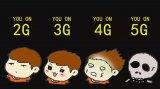 神奇的5G网络技术,下电影只需十秒!