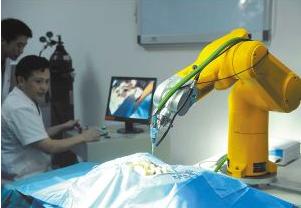 脊柱手术机器人ORTHBOT成功完成手术,填补了...