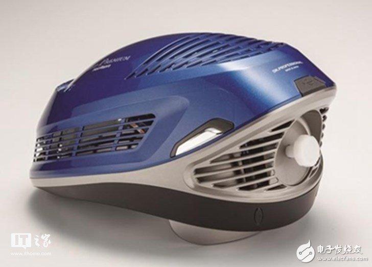 日本推出一款LED安全头盔 内侧设有80颗红色LED灯可防止脱发