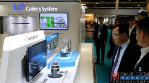 LS的世界上最薄的500千伏输电电缆,是目前市场...