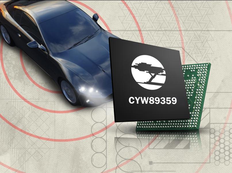 CYW89359与RSDB技术在汽车上实现智能手机屏幕的镜像功能