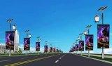 LED显示屏如何拓展智慧城市应用?LED灯杆屏应用的详细概述