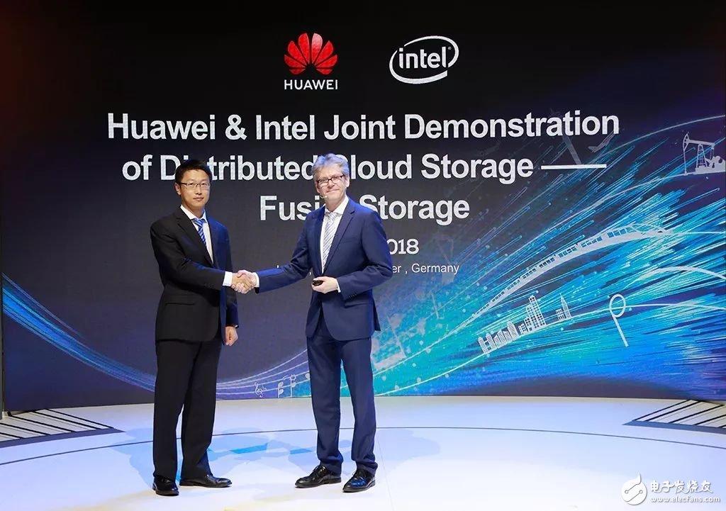 华为展示基于分布式云存储的技术创新,助力构建云基础架构平台