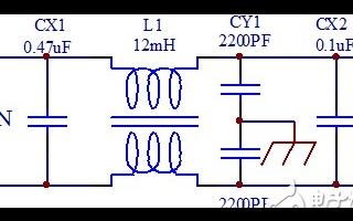 开关电源EMI输入滤波器确定fcn的方法