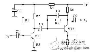 双管阻容耦合放大器的工作原理分析及电路故障分析