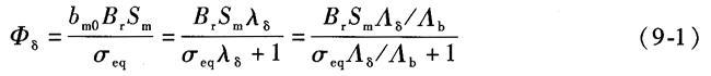 计算漏磁系数和等效气隙磁通密度计算系数有何意义