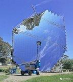使用Monte Carlo射线追踪仿真模拟太阳能聚光器计算焦平面的热通量