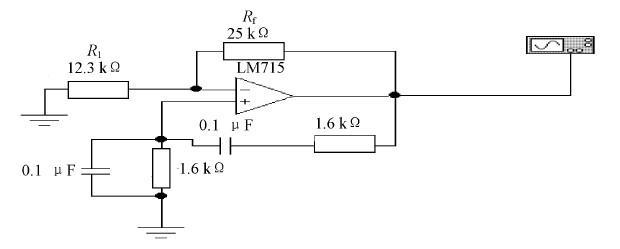 利用EWB仿真软件对文氏电桥振荡电路进行仿真