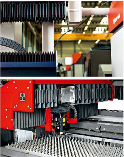 通过光束传输保证激光切割的连续性、稳定性和过程可靠性