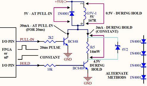 如何用复位电压检测器IC减小继电器线圈的保护电流