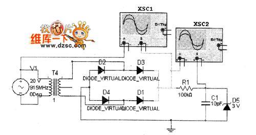 915mhz電子標簽電源產生電路設計圖