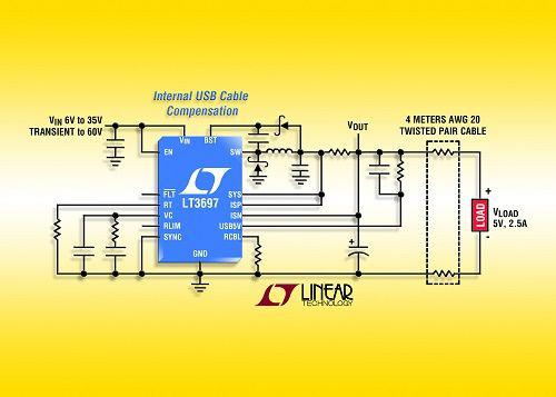LinearLT3697输入降压型开关稳压器的特点介绍