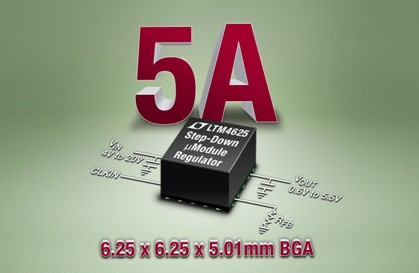 凌力爾特uModule穩壓器LTM4625特點介紹
