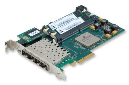 WANic 6354智能型高性能数据包处理器的高网络吞吐量