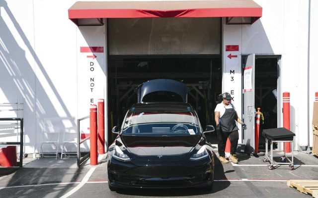 特斯拉Model 3產量未達目標 8月最后一周僅...